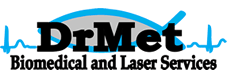 DrMet Biomedical Services Logo