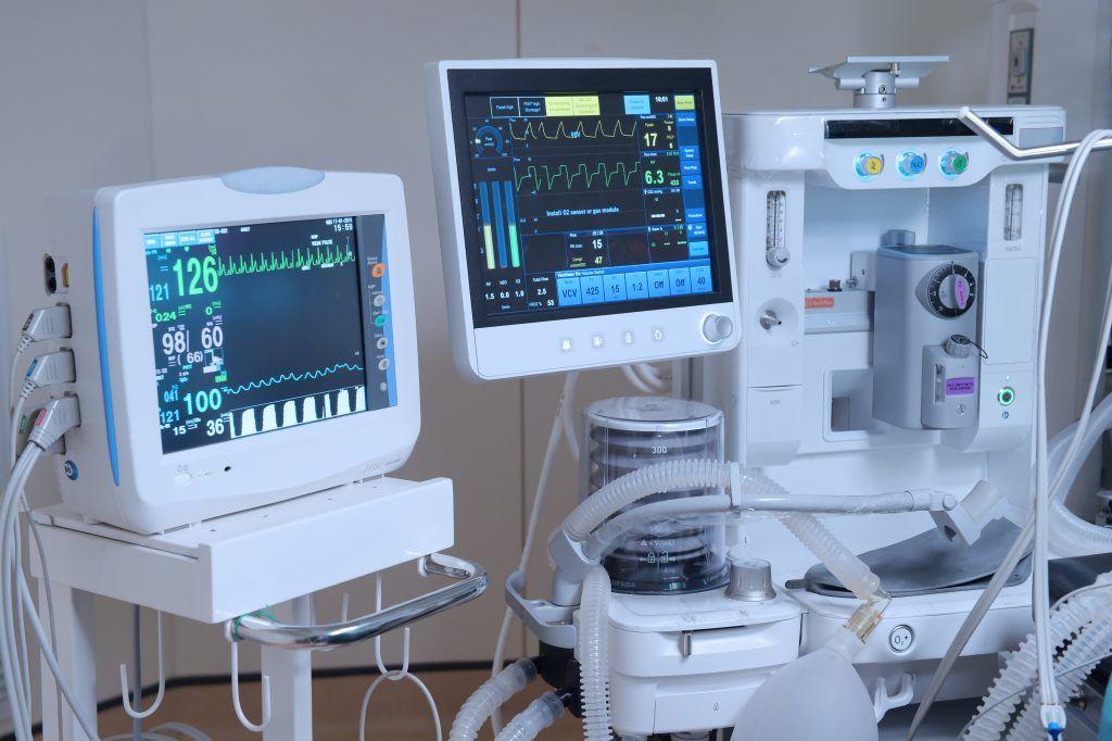 Monitor and Anes Machine